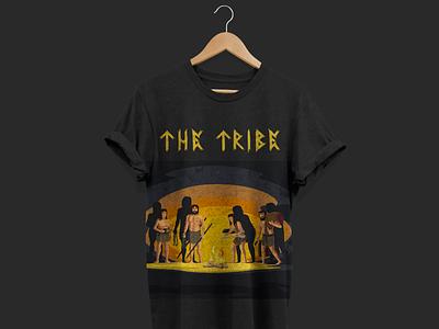 Tribe T-shirt tribe flat illustrations tees shirts shirtdesign shirt design branding vector typography design illustration