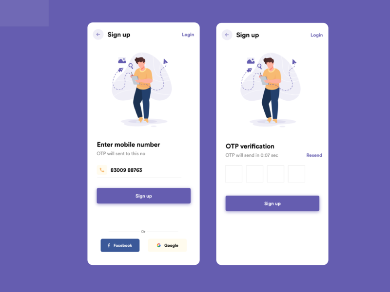 Signup screens signup screen signup webdesign websitedesign app uiux uidesignchallenge uidesignpatterns uidesigns appdesign uidesign branding logo illustration android app ux dribbble dailyui ui design