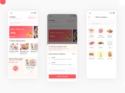 Delivery application delivery app design delivery app delivery service iosdesign ios app design appdesign home screen homepage design webdesign landing page design interaction illustration uidesignpatterns typography branding ios ux dailyui ui design