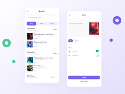 Short video platform minimalist videoplayer tiktok appdesign ui design landing page design website design webdesign uiuxdesign interaction uidesign uidesignpatterns typography branding ios dribbble ux dailyui design