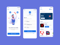 Offers screen iosdesign appdesign landing page design webdesign 3d art onboarding offers illustration ux uidesign interaction android app uidesignpatterns typography dribbble dailyui design