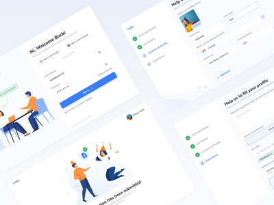 Website design - SaaS onboarding modern website design modern design minimal website design minimal design minimal website designer hireappdesigner appdesigner webdesign website design web design saas app saas landing page saas website saas design typography dribbble design