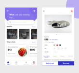 DailyUI 012 - e-commerce app