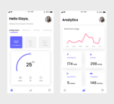 DailyUI 021 - Home monitoring dashboard