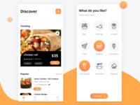 DailyUI 043 - Food menu