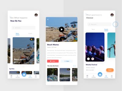 Events- ios app