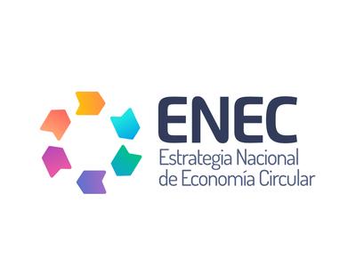 Logo ENEC - Estrategia Nacional de Economía Circular