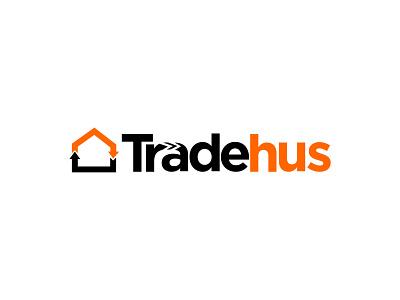 Tradehus art illustrator website vector flat product design logo minimal design branding