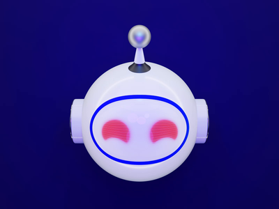 Apollo App Icon robot design lucas haas logo icon app 3d ui reddit apollo