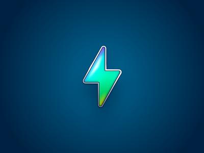 Bolt icon lucas haas power energy bolt