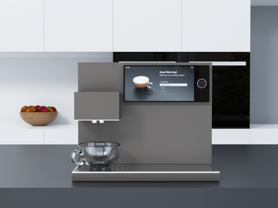 Coffee Machine 3d animation ios lucas haas user experience coffee machine coffee ui