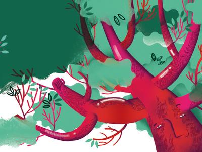 """Do you hear the trees talking?""/illustration3"