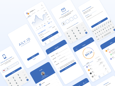 Cryptocurrency Application cryptocurrency finance mobile android ux ui