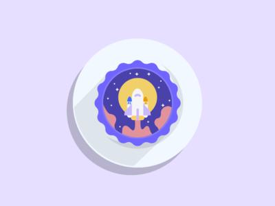 Eat moon cakes