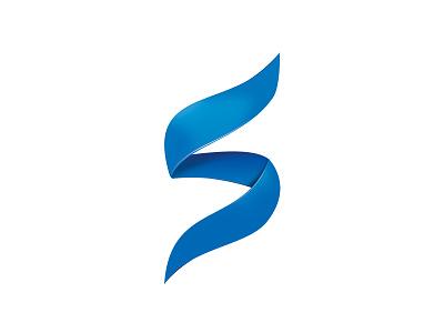 Logo Symbol-it logo blue curves
