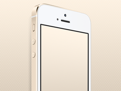 Gold IPhone 5s Wallpaper