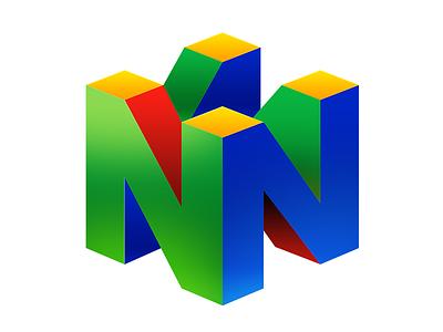 N64 Logo n64 nintendo logo