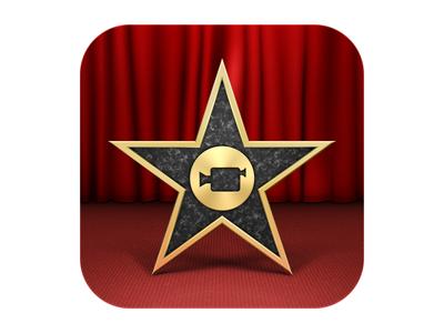 Apple iMovie for iOS App Icon (2012) apple ios icon imovie