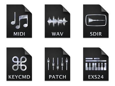 Apple Logic Pro X Document Icons (2013)