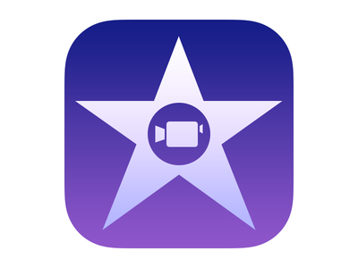 Apple iMovie for iOS App Icon (2013)