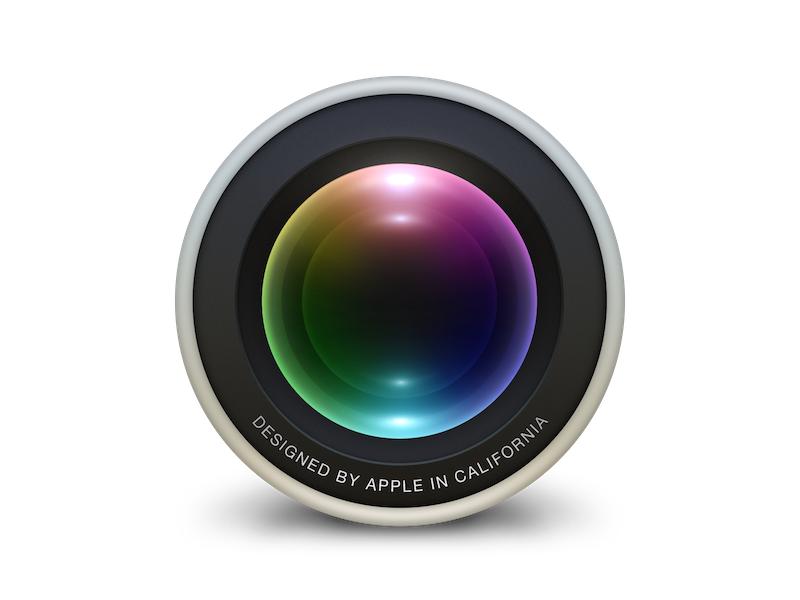 Aperture for OS X Yosemite Icon Concept rip aperture