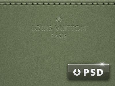 Gaston-Louis Vuitton Wallpaper & PSD louis vuitton psd stitching