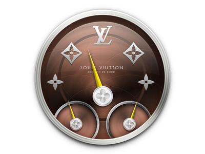 Louis Vuitton Dashboard Icon mac os x dashboard louis vuitton icon