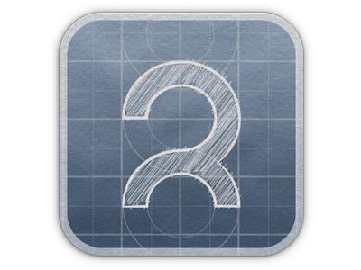 Blueprint Logo Avatar / Icon blueprint logo
