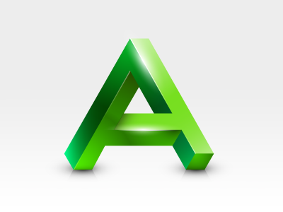 Impossible A Icon a impossible a penrose triangle