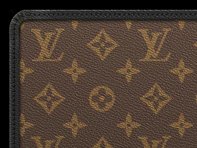 Louis Vuitton Monogram Macassar Ios Wallpaper By Robert