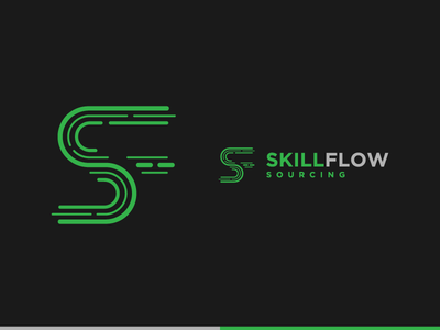 SkillFlow Sourcing ''Logo Design''