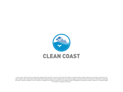Clean Coast Logo Design