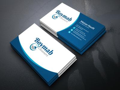Boymah Cleaners ''Business Card''