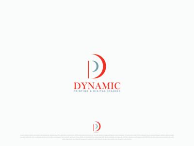 """Dynamic Printing Digital Imaging"" Logo Design"