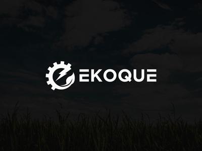 """""""EKOQUE"""" Brand Logo"""