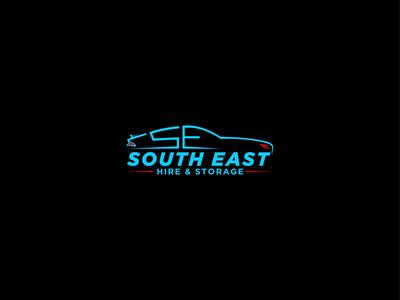South East Hire & Storage Logo design