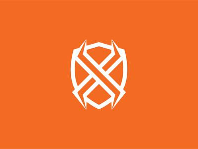 X Shield Monogram