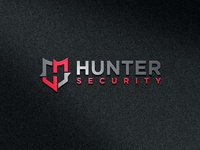 """H+S+Shield"" Hunter Security logo"