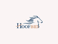 "Branding for online horse auction ""Hoofbid"""