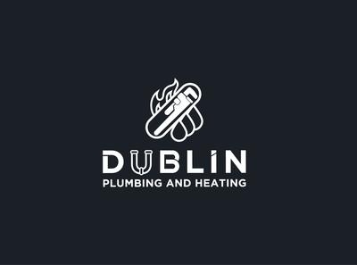 Dublin Plambing and heating Logo design