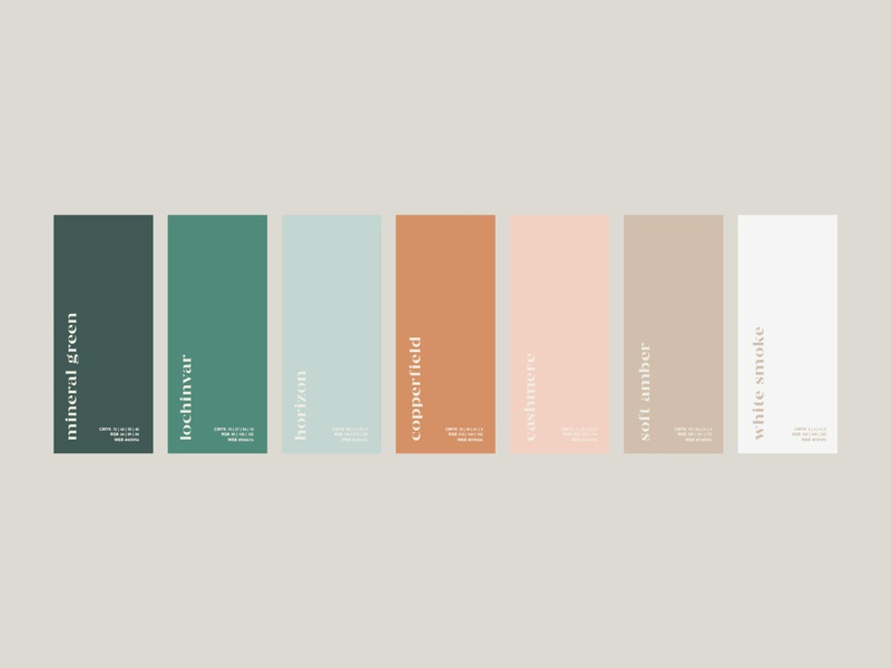 Casa Pueblo Palette colour branding neutral tones colors palette color palette colors