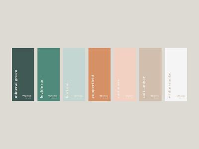 Casa Pueblo Palette colour branding neutral tones colors palette color palette colors
