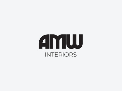 AMW Interiors Logo social media logo