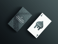 Ace Of Shades Business Card