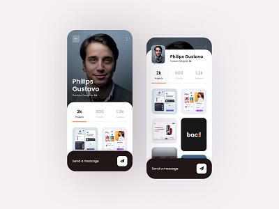 User Profile mobile app design uidesign uxdesignmastery uxdesign user app app design ux ui
