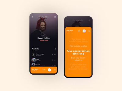 Music App uidesignproject uxdesignmastery ux uxdesign design music app mobile app uidesign app