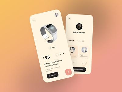 E-commerce App editorial mobile commerce shopping app mobile e-commerce app ux uxdesignmastery uidesign branding design ui