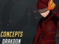 Overwatch Hero Concept - Drakoon