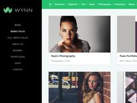 Wynn Portfolio Theme