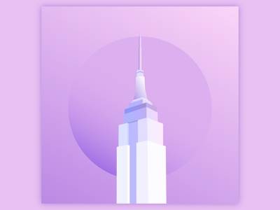 78th Street empire state building empire state illustration illustrator song art album art